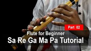 How To Play Flute Sa Re Ga Ma Pa Tutorial