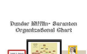Dunder Mifflin Scranton Organizational Chart By Erin Dalton