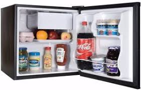 tiny refrigerator office. Image Is Loading Mini-Fridge-With-Freezer-Black-Compact-Dorm-Small- Tiny Refrigerator Office -