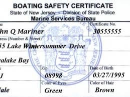 Patch Need Nj In A - Hackettstown Boating Boat Safety Certificate You