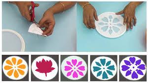 Simple Stencil Designs Easy And Quick Rangoli Designs With Rangoli Stencils