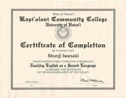 Certificates And Awards Shunji S Portfolio