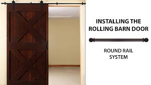 how to install the rolling barn door simple smooth oh so easy you