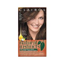 Natural Instincts Creme Color Chart Clairol Natural Instincts Semi Permanent Hair Color Pack Of 3 5a 24 Clove Medium Cool Brown Color Ammonia Free Lasts For 28 Shampoos