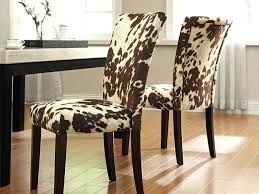 cowhide print chair magnificent cow print dining chairs home design ideas of chair cowhide print dining
