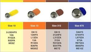 Hearing Aid Battery Sizes Chart Pin On Hearing Aids Online