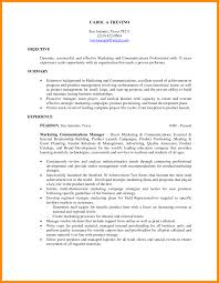 Objectives For Marketing Resume 22 Resumes Examples Management