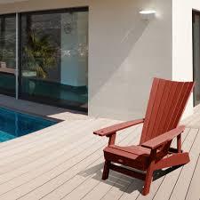highwood manhattan beach adirondack chair with wine glass holder com