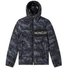 Moncler Aiton Logo Hooded Down Jacket ...