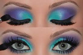 this look you can use a purple lipstick on killing as creating red or ogous colours a plemantary bination iris green eyes