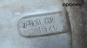 How To Read The Wheel Markings Oponeo Co Uk