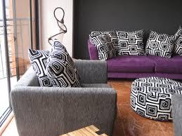 Purple Living Room Chairs Gray And Purple Living Room Tjihome