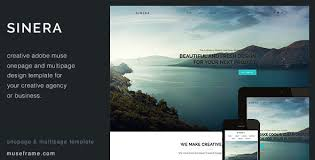 Muse Website Templates Impressive 28 Best Adobe Muse Templates Free Premium Download