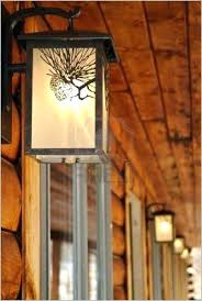 rustic lighting ideas. Log Cabin Lighting Ideas Outdoor Light Fixtures Ceiling Fans Rustic And L