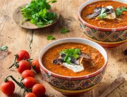 wfd creamy chakalaka soup with biltong