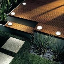 led deck lighting ideas. Solar Deck Lights Flush Mount Lighting Ideas Led