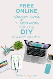 Graphic Design Free Online Tools Free Design Tools To Help You Diy Your Wedding Diy Your