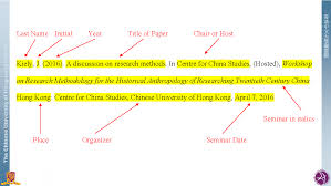 Apa Style Citation Styles Libguides At The Chinese University Of