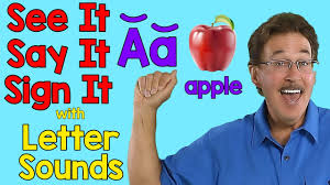 See It, Say It, Sign It | Letter Sounds | ASL <b>Alphabet</b> | Jack Hartmann ...
