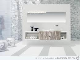 modern white bathroom ideas. Creative Idea Modern White Bathroom 20 Exceptional And Stylish Designs Home Design Lover Open Space Bathrooms Ideas Vanity Tile Can R