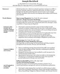 marketing manager resume objective statement retail manager sample retail marketing resume