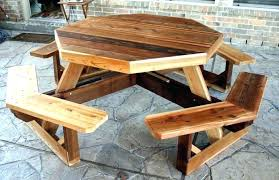 round wood outdoor table build a round picnic table how to build a round picnic table round wood outdoor table