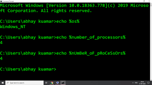 what is environment variable in windows