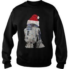 Christmas T Shirts Led Lights Star Wars R2d2 Christmas Led Light Christmas Shirt
