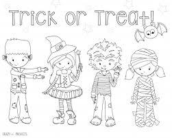 Small Picture Cute Free Printable Halloween Coloring Pages Crazy Little Projects