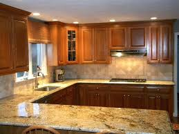 kitchen backsplashes with granite countertops granite and combinations gold granite w tumble marble the kitchen backsplash