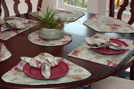 full size of home engaging wedge shaped placemats 8 light green tropical round table for tables