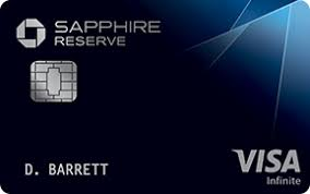 chase sapphire reserve registered trademark credit card