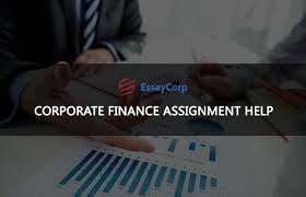 corporate finance assignment help by professional writers