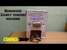 Homemade Candy Vending Machine Best WOW Amazing Homemade Candy Vending MachineSimple YouTube