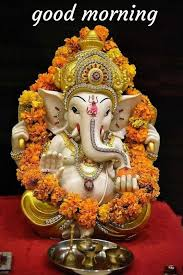 beautiful ganesh goodmorning images