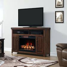 electric fireplace media console electric fireplace tv stand with glass embers