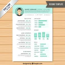 Graphic Resume Templates Adorable Design Resume Template Graphic Design Resume Template Creative