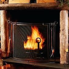bowed fireplace screens pilgrim bowed fireplace screen w fireplace tools vintage iron finish designated survivor recap