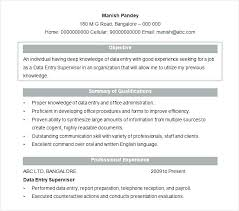 Data Entry Resume Objective Examples Best Of Objective For Resume Entry Level Examples Sample Objectives Resumes