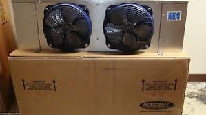 walk in cooler evaporator new bohn air defrost 2 fan walk in cooler evaporator 7 000 btu s sp motors r22