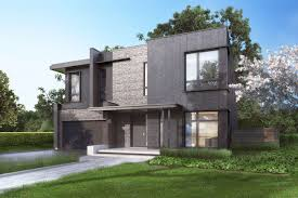 modern home architecture stone. Homes Finished In Brick, Wood And Stone Image Modern Home Architecture D