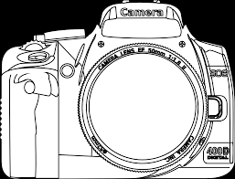 Small Picture Coloring Camera Coloring Page Free Printable Camera Coloring Page