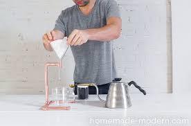 homemade modern diy ep53 copper coffee maker step 7