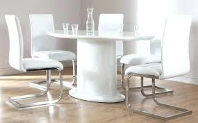 high gloss dining chairs 6 chair dining set oval white high gloss dining table with 6