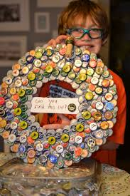 Of Wreaths Bottle Cap Wreath Entered In Festival Of Wreaths Fundraiser