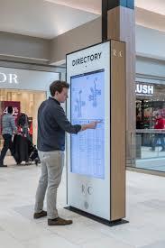 Hospital Kiosk Design Touchscreen Directory At Rosedale Center By Callisonrtkl