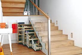 Kleiner kühlschrank mit 3 * gefrierfach zum unterbauen. Treppen