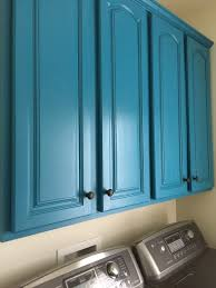 Valspar Turquoise Spray Paint Laundry Room Cabinets Painted With Valspar Sunday Bustle And