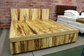 diy king size platform bed king size platform ideas with beautiful bed frame within king size