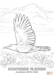 Click The Alabama State Bird Coloring